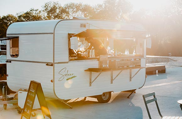 sugar lemon bar mobile sidecar mariage