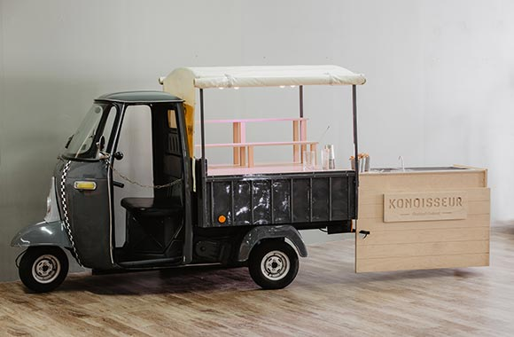 sugar lemon bar mobile triporteur mariage