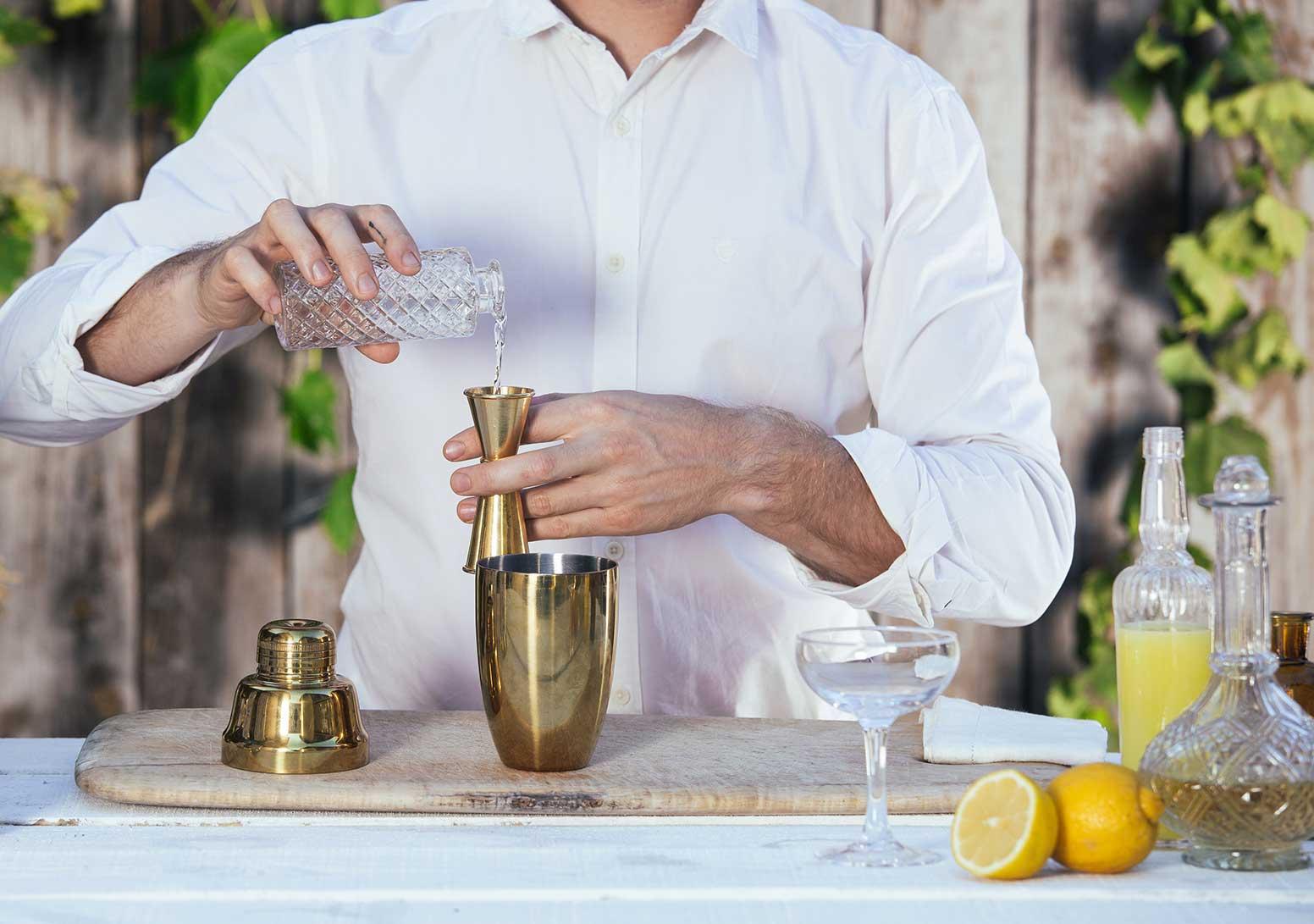 sugar lemon barman jigger